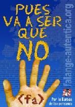 UN NO DEMOCRATICO, SOCIAL Y ETICO (Carlos Javier Galán)